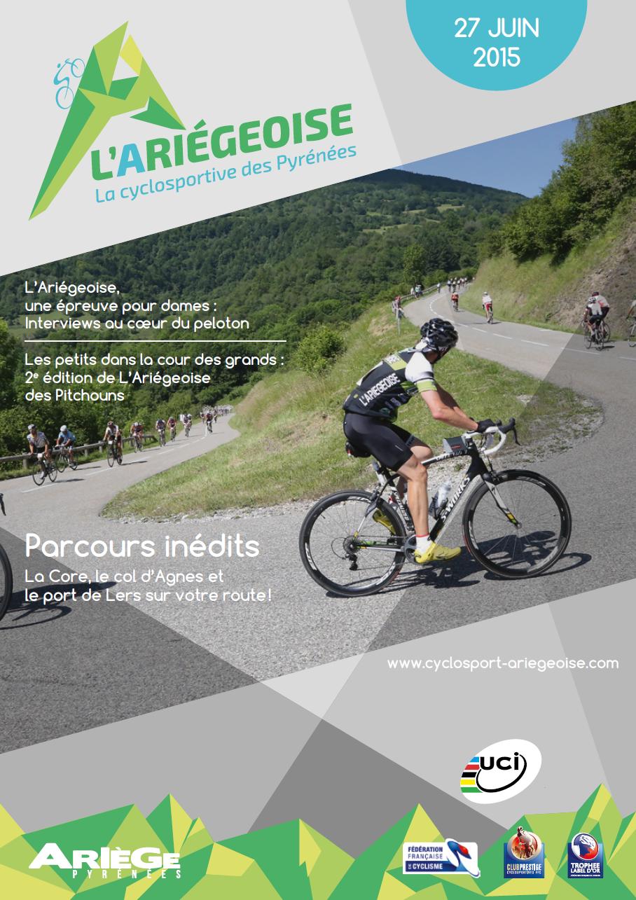 Magazine officiel L'Ariégeoise 2015